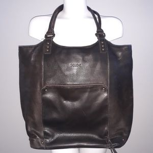Solo Leather Laptop Bag